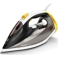 Azur GC4537/86 Steam Iron - Black & Yellow, Black