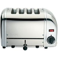 Buy DUALIT 40352 Vario 4-Slice Toaster - Stainless Steel, Stainless Steel - Currys PC World