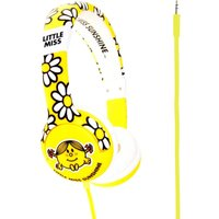 MR MEN Little Miss Sunshine Kids Headphones - Yellow, Yellow