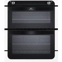 NEW WLD NW701G Gas Built-under Oven - Black & White, Black