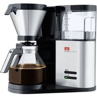 MELITTA AromaElegance Filter Coffee Machine - Black and Stainless Steel, Stainless Steel