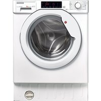Hoover Hbwm 84tahc-80 Integrated 8 Kg 1400 Spin Washing Machine - White, White