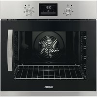 ZANUSSI ZOA35676XK Electric Oven - Black & Stainless Steel, Stainless Steel