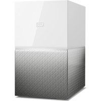 Wd My Cloud Home Duo Nas Drive - 6 Tb, White, White
