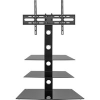 Mmt Rio Mmt-cb55 800 Mm Tv Stand With Bracket - Black, Black