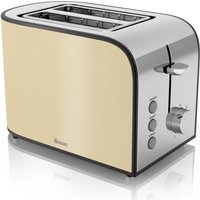 Buy SWAN Townhouse ST17020CREN 2-Slice Toaster - Cream, Cream - Currys PC World