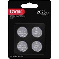 LOGIK 2025 Batteries - Pack of 4.