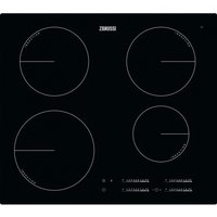 ZANUSSI ZIT6470CB Electric Induction Hob - Black, Black