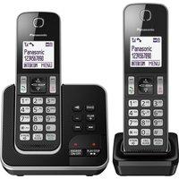 Panasonic Kx-tgd622eb Cordless Phone - Twin Handsets