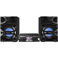 Panasonic Sc-max3500ek Bluetooth Megasound Party Hi-fi System - Black, Black