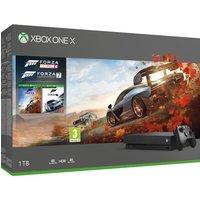 MICROSOFT Xbox One X with Forza Horizon 4