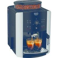 Arabica Manual Espresso EA811840 Bean to Cup Coffee Machine - Black & Silver, Black