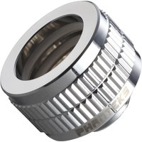 Glacier 16 mm Hard Tube Fitting   Mirror Chrome