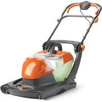 FLYMO Compact Glider 330AX Corded Hover Lawn Mower - Orange & Black, Orange