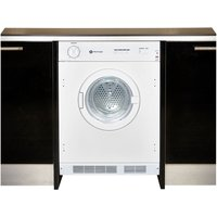 WHITE KNIGHT  C43AW Integrated Vented Tumble Dryer - White, White