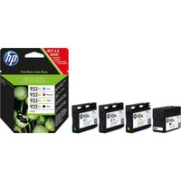 HP HP932XL/HP 933XL Cyan, Magenta, Yellow & Black Ink Cartridges - Multipack, Cyan