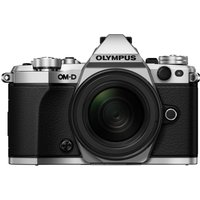 OLYMPUS OM-D E-M5 Mark II Compact System Camera with M.ZUIKO 12-50 mm f/3.5-6.3 Zoom Lens - Silver, Silver