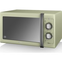 SWAN Retro SM22070GN Solo Microwave - Green, Green