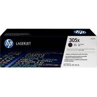 HP 305X High Yield Original LaserJet Black Toner Cartridge, Black