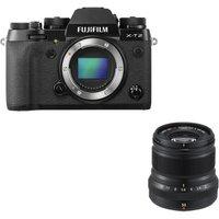 FUJIFILM X-T2 Mirrorless Camera & Fujinon XF 50 mm f/2 WR Standard Prime Lens Bundle