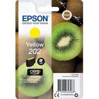EPSON 202 Kiwi Yellow Ink Cartridge, Yellow