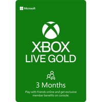 MICROSOFT Xbox LIVE Gold Membership 3 Month Subscription, Gold.