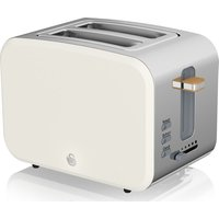 Nordic ST14610WHTN 2-Slice Toaster - White, White