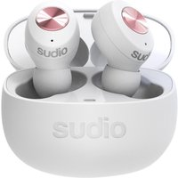 SUDIO TOLV Wireless Bluetooth Earphones - White, White