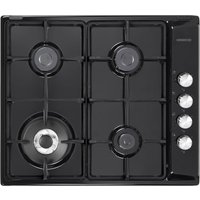 Kenwood Khg602 Bl Gas Hob - Black, Black