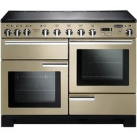 RANGEMASTER Professional Deluxe 110 Induction Range Cooker - Cream & Chrome, Cream