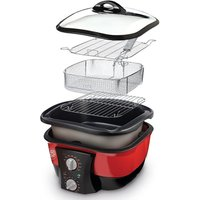 JML  V0740 GoChef 8-in-1 Cooker - Red, Red