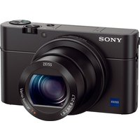 SONY Cyber-shot DSC-RX100 IV High Performance Compact Camera - Black, Black