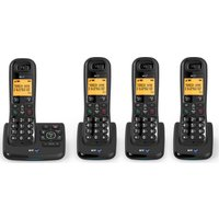 Click to view product details and reviews for Bt Xd56 Cordless Phone With Answering Machine Quad Handsets.