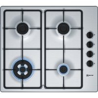 NEFF T26BR56N0 Gas Hob - Stainless Steel, Stainless Steel
