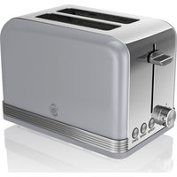Buy SWAN ST19010GRN 2-Slice Toaster - Grey, Grey - Currys PC World
