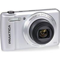 PRAKTICA Luxmedia Z212-S Compact Camera - Silver, Silver.
