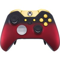 MICROSOFT Xbox Elite Wireless Controller - Red Shadow & Gold, Red