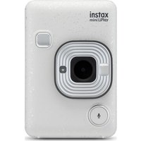 INSTAX LiPlay Digital Instant Camera - White, White