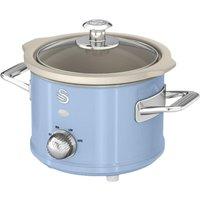 SWAN Retro SF17011 Slow Cooker - Blue, Blue