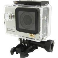 GOXTREME Vision 4K Ultra HD Action Camera - Silver, Silver
