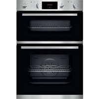 NEFF N30 U1GCC0AN0B Electric Double Oven - Stainless Steel, Stainless Steel