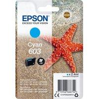 EPSON 603 Starfish Cyan Ink Cartridge, Cyan