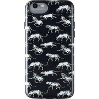 WILMA Midnight Shine Leopard iPhone 6 / 6s / 7 / 8 / SE Case - Black, Black