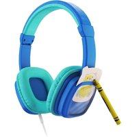 PLANET BUDDIES Colour & Swap Kids Headphones - Blue, Blue