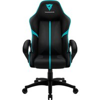 THUNDERX3 Essential BC1 Gaming Chair - Black & Cyan, Black.
