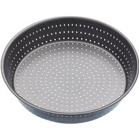 MASTER CLASS Crusty Bake 23 cm Non-stick Deep Pie Pan - Black, Black