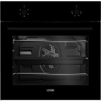 LOGIK LBFANB16 Electric Oven - Black, Black
