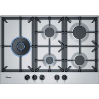 NEFF T27DS79N0 Gas Hob - Stainless Steel, Stainless Steel