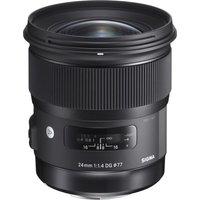 SIGMA 24 mm f/1.4 DG HSM Art Wide-angle Prime Lens - for Nikon