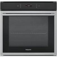 HOTPOINT SI6 874 SH IX Electric Oven - Black & Silver, Black